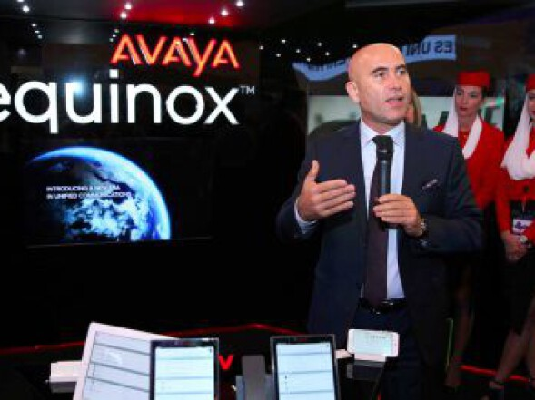 Gitex 2016 fuarı Dubai'de gerçekleştirilirken, Avaya yeni çözümü Equinox'u tanıttı.
