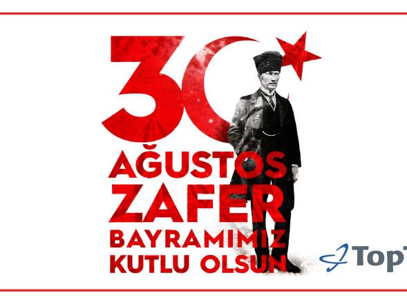 30 Ağustos Zafer Bayramımız Kutlu Olsun.
